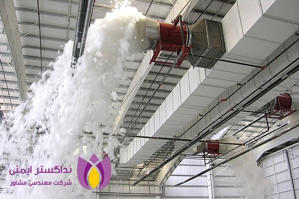 سیستم اطفاء حریق اتوماتیک فوم (Foam)